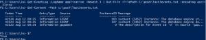 outfile path encoding ascii